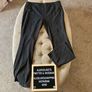 NY & Co Dark Gray Yoga Pants